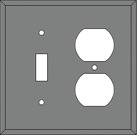 SWITCH and OUTLET COVER DESIGNATOR (OS)