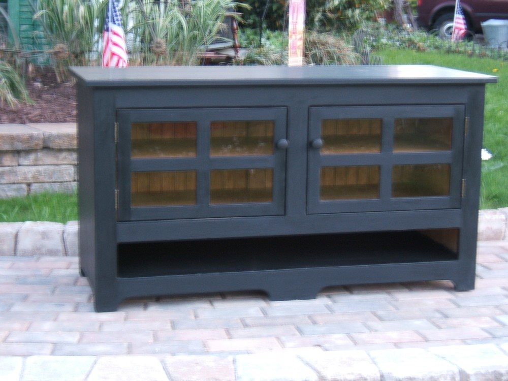 Beau Custom Wide Screen TV Cabinet