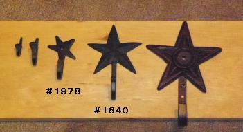 Star Hook Sample Board