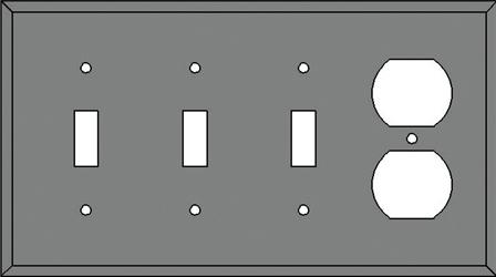 TRIPLE SWITCH and OUTLET DESIGNATOR (TSO)