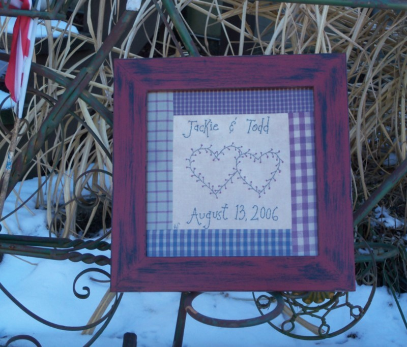 Custom stitchery
